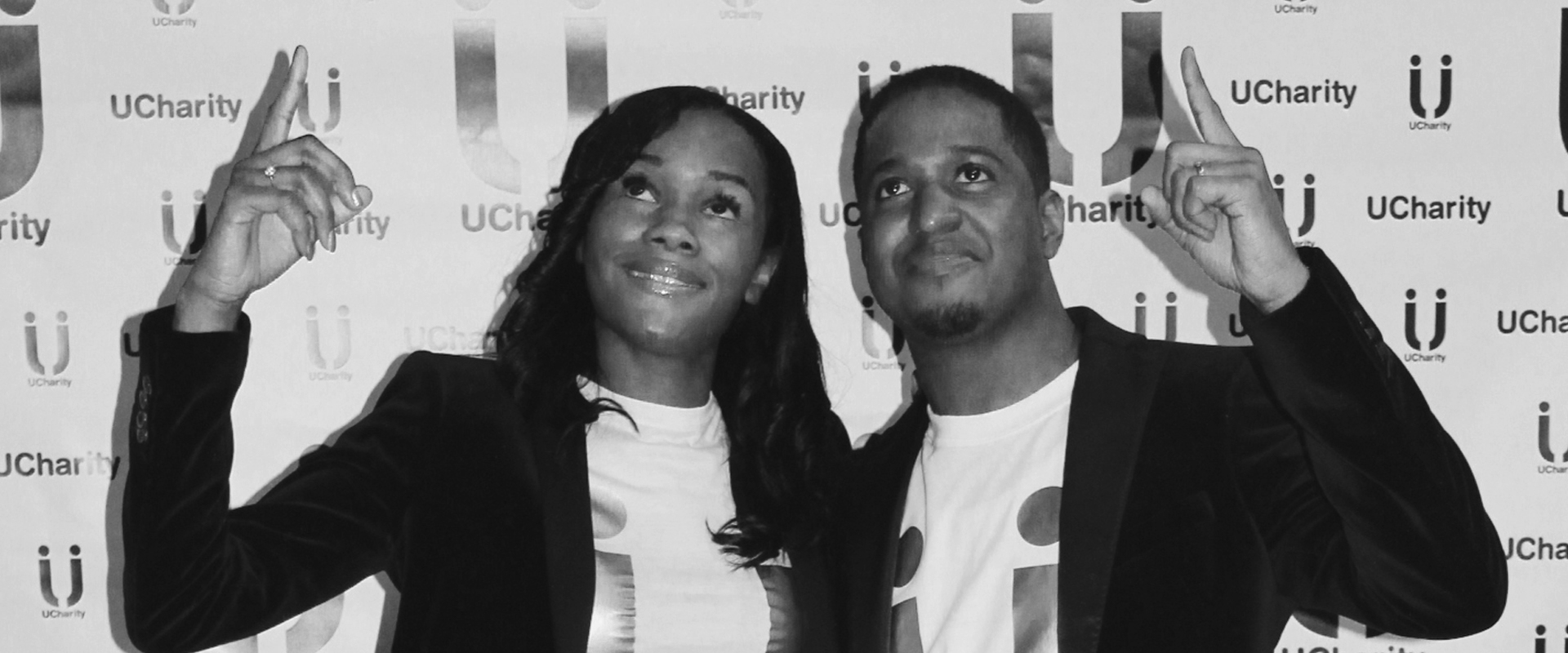 about us - mike and shez at first charity held event
