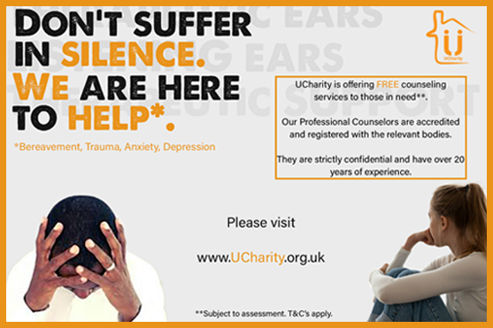 UCharity - Free Counselling